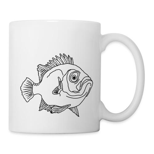 Fische Barsche Ozean Meerwasser Aquarium Angeln - Mug