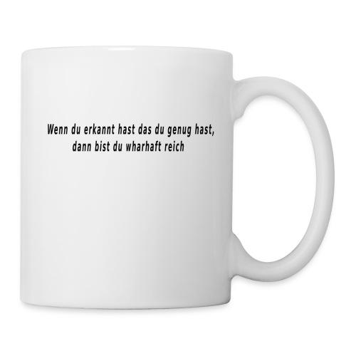 meine Erkenntnis - Tasse