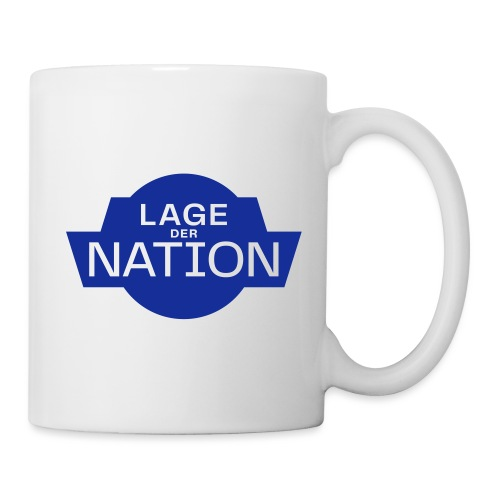 Lage der Nation Blau - Tasse