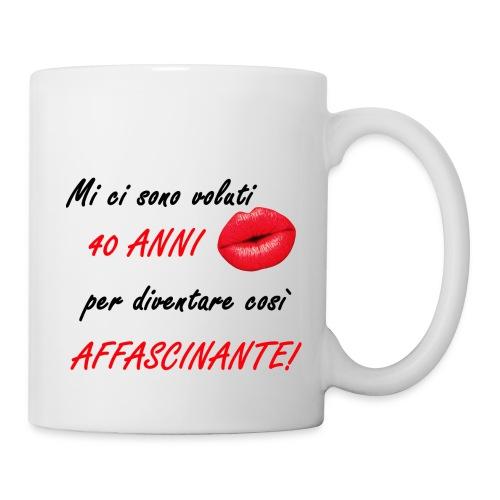40 ANNI donna - Tazza