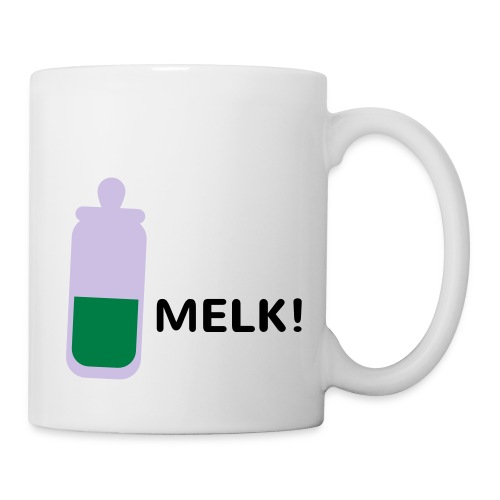Grappige Rompertjes: Melk - Mok