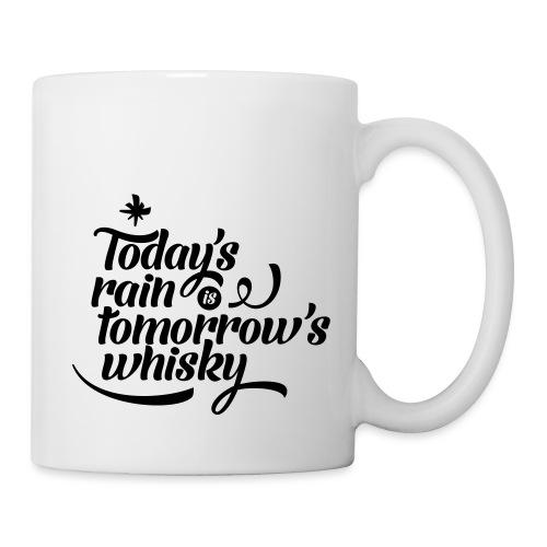 Todays's Rain Women's Tee - Quote to Front - Mug