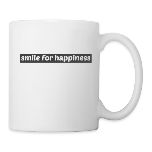 smile for happiness - Mugg