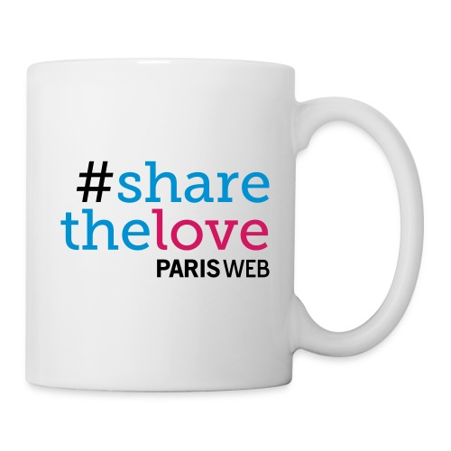 sharethelovemug - Mug blanc
