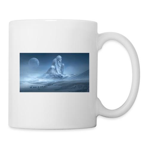 Glacier fantaisie - Mug blanc