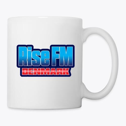 Rise FM Denmark Text Only Logo - Mug