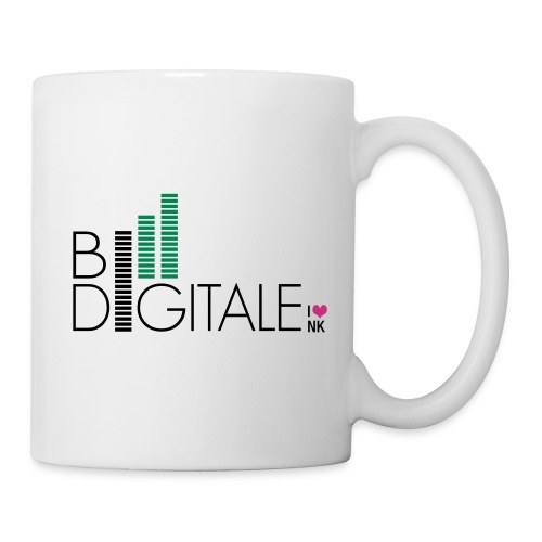 logo bidigital negativ - Tasse