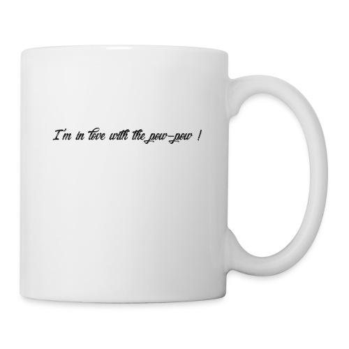 Pow-pow - Mug blanc