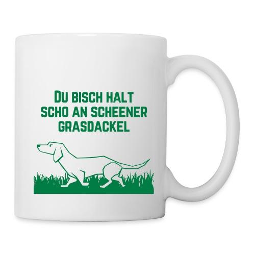 Grasdackel - Tasse