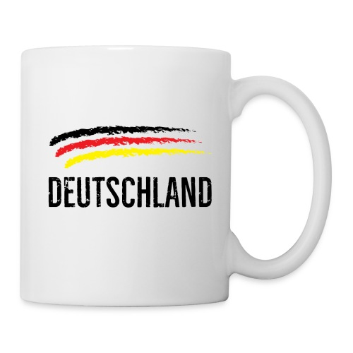 Deutschland, Flag of Germany - Mug