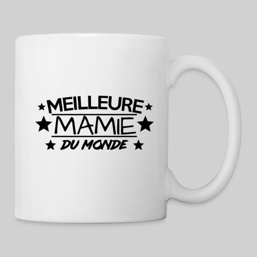 MEILLEURE MAMIE DU MONDE / ANNIVERSAIRE / NOEL - Mug blanc