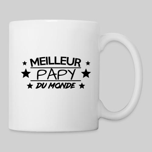 MEILLEUR PAPY DU MONDE / ANNIVERSAIRE / NOEL - Mug blanc