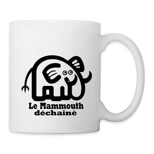 logo titre mammmouth - Mug blanc