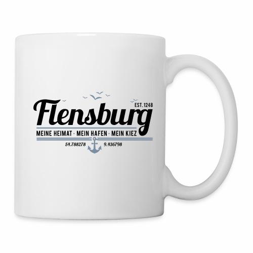 Flensburg - meine Heimat, mein Hafen, mein Kiez - Tasse