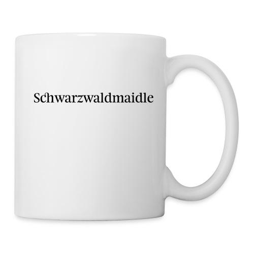 Schwarzwaldmaidle - T-Shirt - Tasse