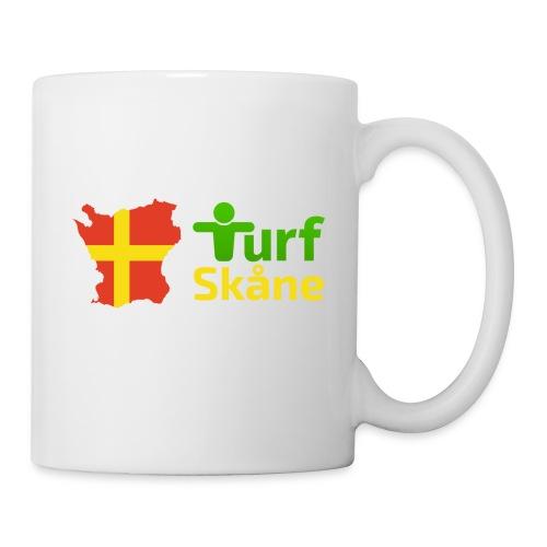 Turf Skåne Logo gul - Mugg