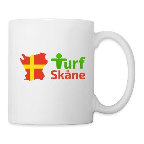 Turf Skåne Logo röd - Mugg