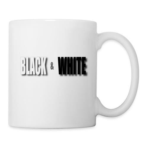 Black and White - Tasse