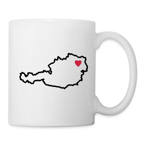 Ein Herz für Österreich - Tasse