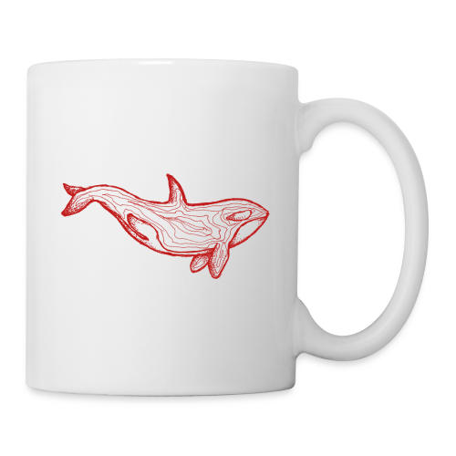 Roter Orca - Tasse