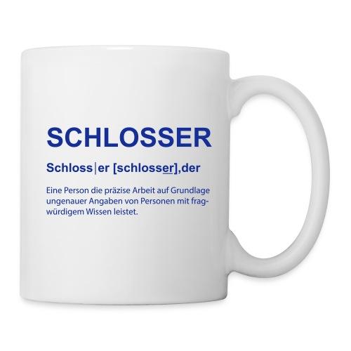 Schlosser Bezeichnung - Tasse