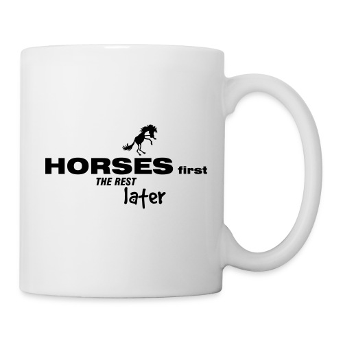 horsesfirst2 - Tasse