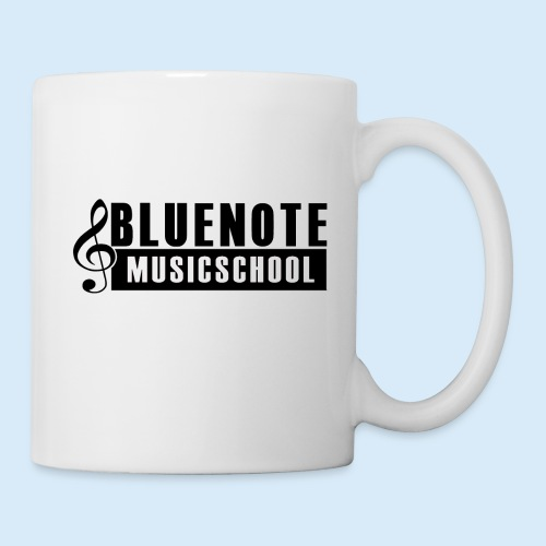 Bluenote Musicschool Logo Schwarz/Weiss - Tasse