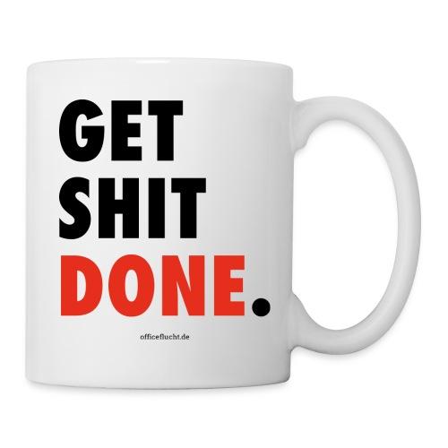 Get-shit-done-font - Tasse