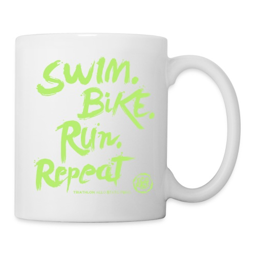 Swim. Bike. Run. Repeat - Tazza