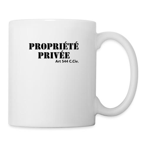 Propriété privée - Mug blanc