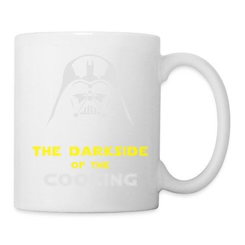 The darkside of the cooking - Mug blanc