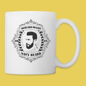 No Beard No Pain - Tasse