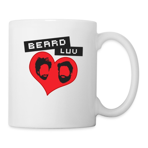 BEARD LUV, Wahre Bartliebe <3 - Tasse