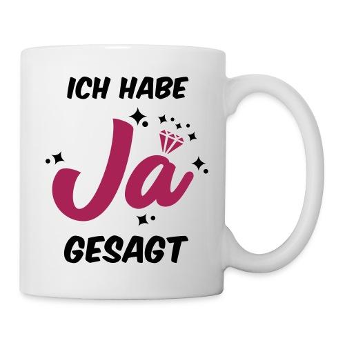 Ich habe JA gesagt - JGA T-Shirt - JGA Shirt - Tasse