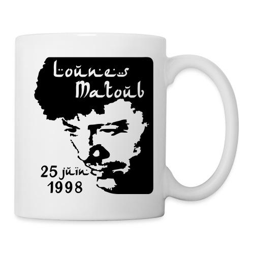 Motif hommage à Lounes Matoub - Mug blanc