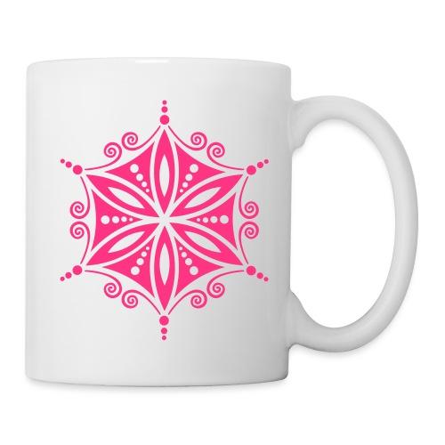 Blume des Lebens Heilige Geometrie Energie Symbol - Tasse