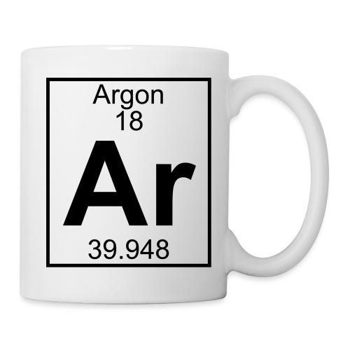 Argon (Ar) (element 18) - Mug