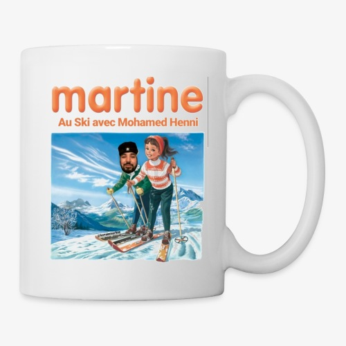 Martine-SkiAvecHenni - Mug blanc