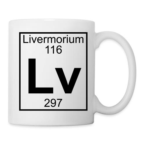 Livermorium (Lv) (element 116) - Mug