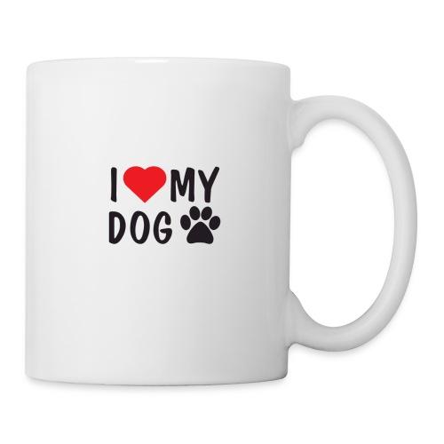I LOVE MY DOG - Tasse