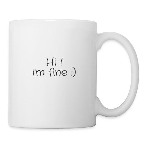 hi - Mug blanc