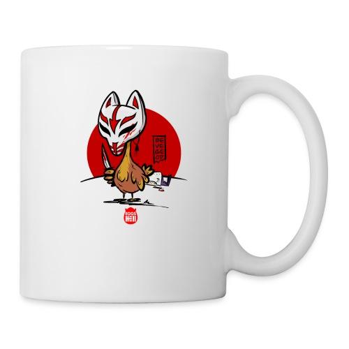 BeVegeOr ... chickenwar - Mug