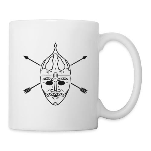 Cuman helmet with arrows - Mug