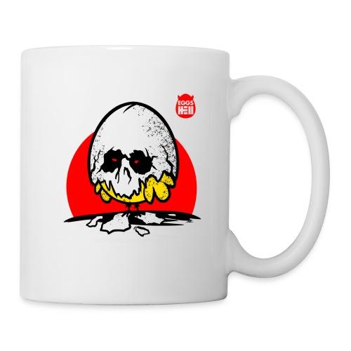 Eggshell skull - easter egg - Mug