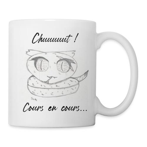 Serpent_chut - Mug blanc