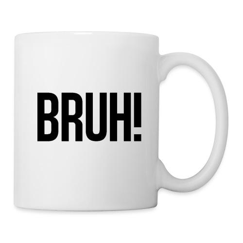 bruh - Mug blanc