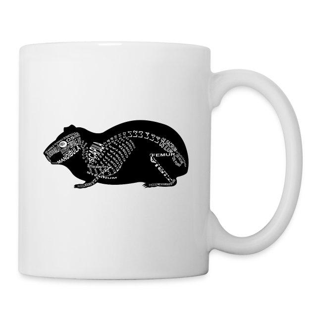 wort-anatomie | Meerschweinchen-Skelett - Tasse
