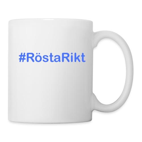 #RöstaRikt - Mugg