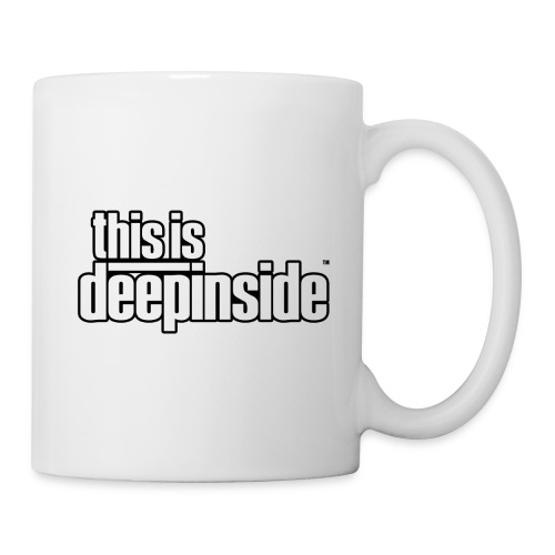 This is DEEPINSIDE logo black - Mug