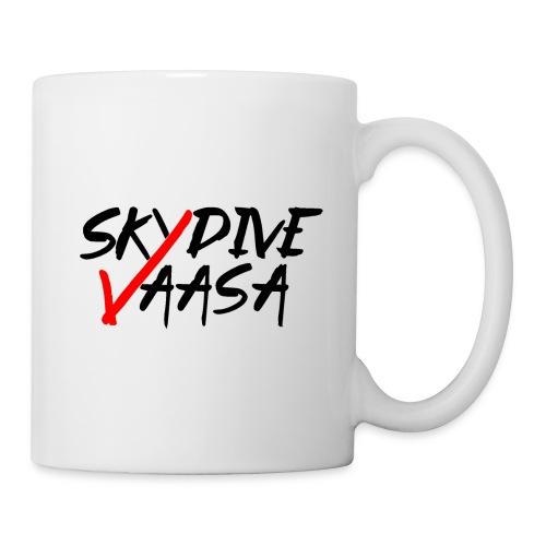 Skydive Vaasa Musta-Punainen - Muki